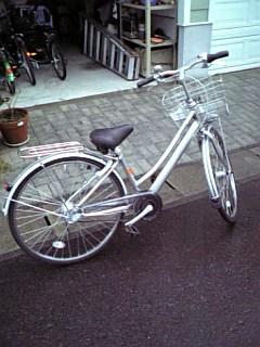 新しい自転車!