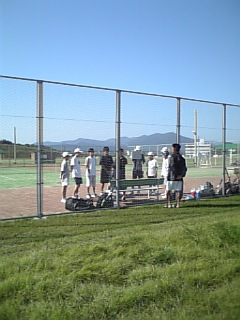 テニス塾!
