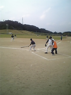 町民ソフトボール大会!