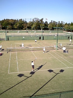 県中学校秋季大会テニスの部
