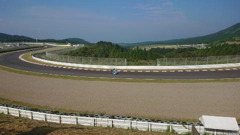 オートポリスでレース観戦!