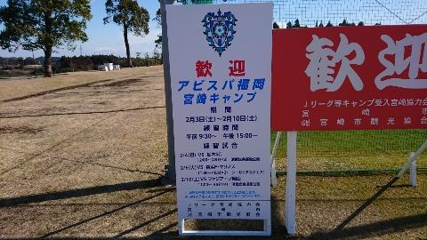 アビスパ福岡対栃木SCの練習試合!