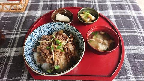 お昼ご飯(^-^)v
