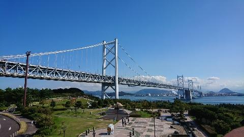 瀬戸大橋!
