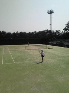 テニスの日記念 シーガイアジュニアテニストーナメント